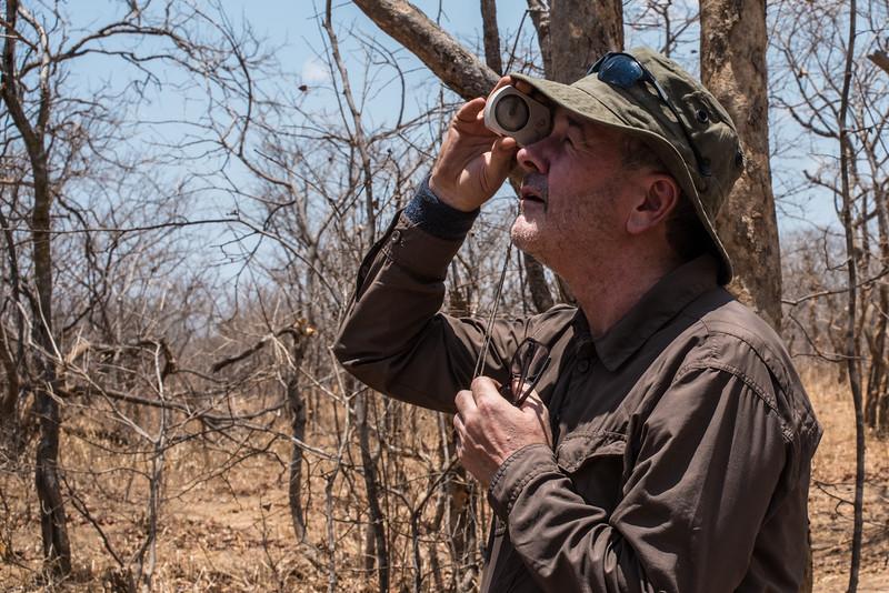 Vegetation survey, Vwaza Marsh Wildlife Reserve