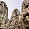 Angkor Bayon temple faces, Cambodia