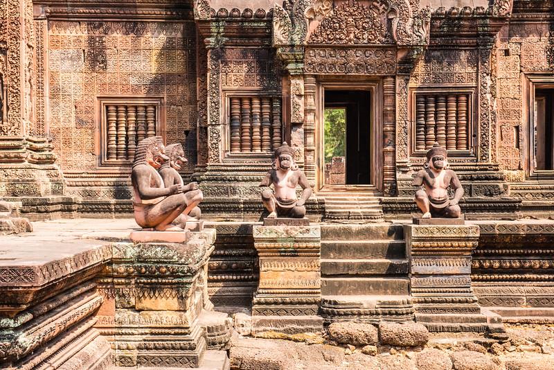 Banteay Srei, Angkor temples, Cambodia