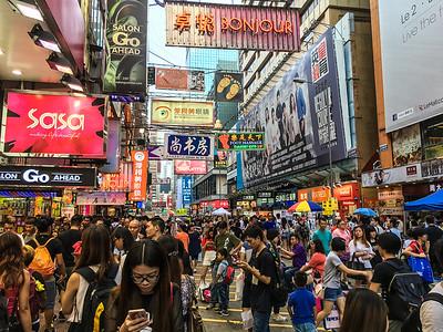 Street Scene, Hong Kong