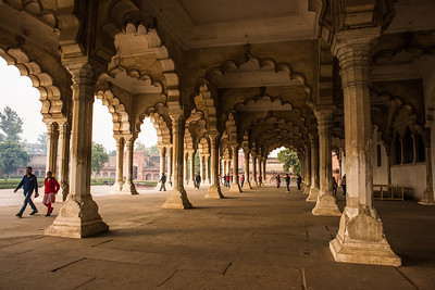 Arches, Agra Fort, India