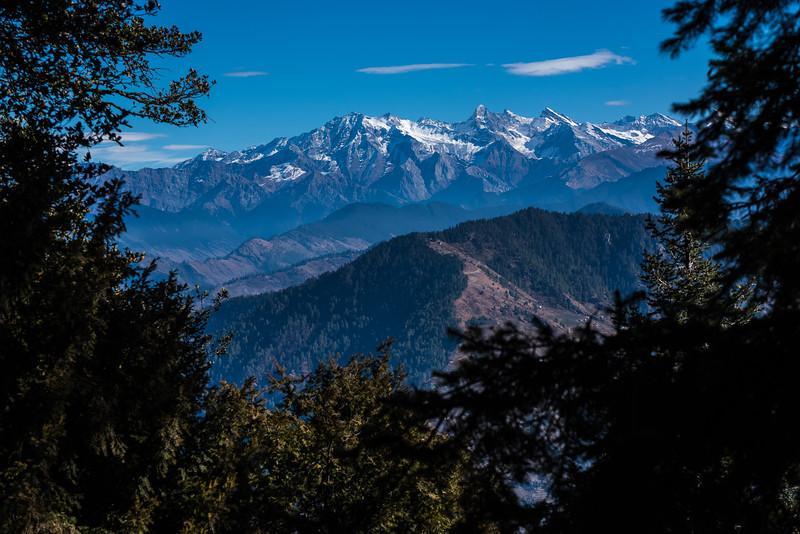 Himalaya view, Himachal Pradesh, India