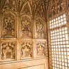 Window, Agra Fort, India