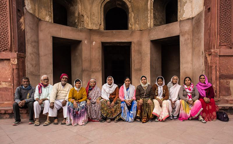 12 Pilgrims, Agra Fort, India