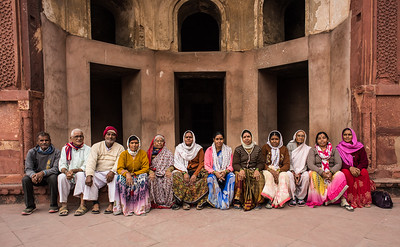 12 Pilgrims, Agra Fort, India