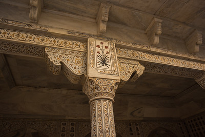Column capital, Agra Fort, India
