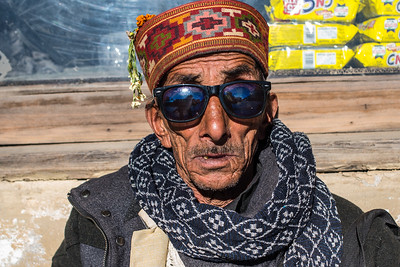 Man in sunglasses, Jahlari Pass, Himachal Pradesh, India