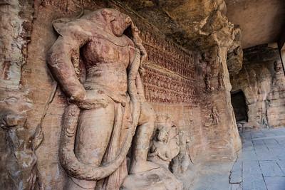 Udayagiri caves, Madhya Pradesh, India