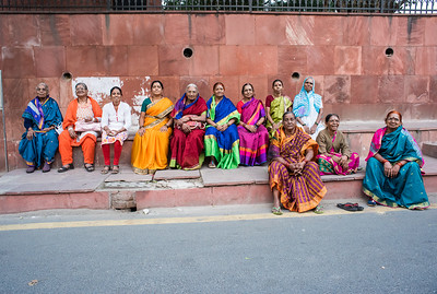 Women, Delhi, India