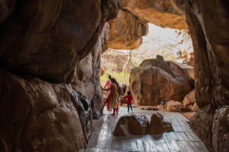 Bhimbetka caves, Madhya Pradesh, India