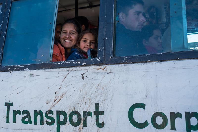 On the bus, Jahlari Pass, Himachal Pradesh, India