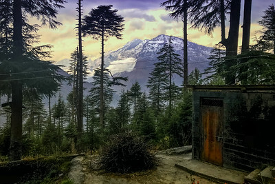 Mountain view, Sonaugi Camp, Himachal Pradesh, India