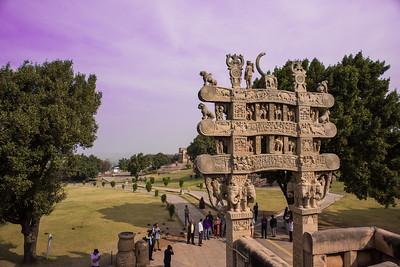 Sanchi temples, Madhya Pradesh, India