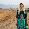 Shepherd girl, Ranchha village, Madhya Pradesh, India