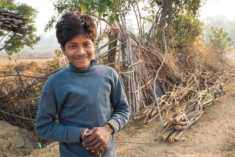 Young boy, Ranchha village, Madhya Pradesh, India