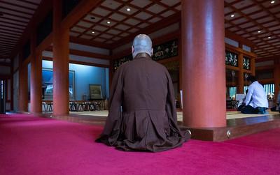 Buddhist Monk, Hiraizumi, Japan