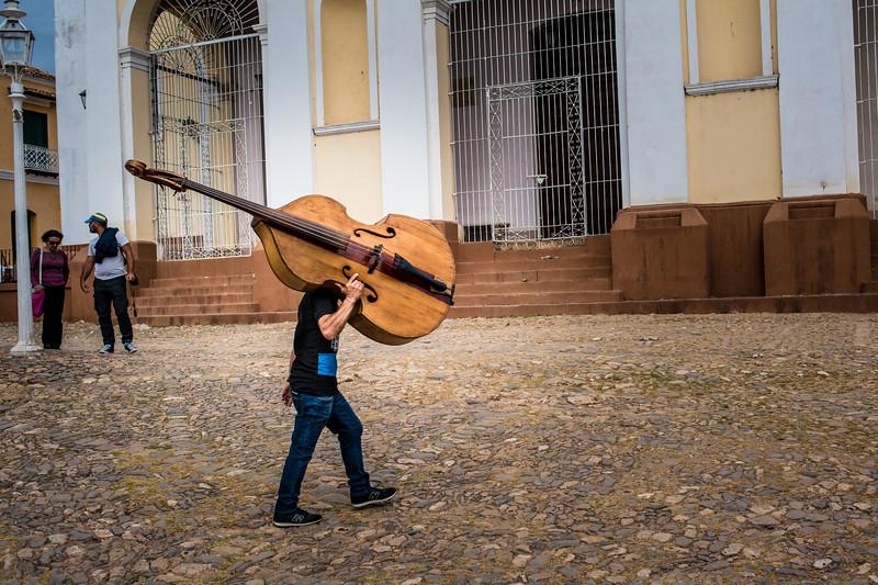 The musician, Trinidad