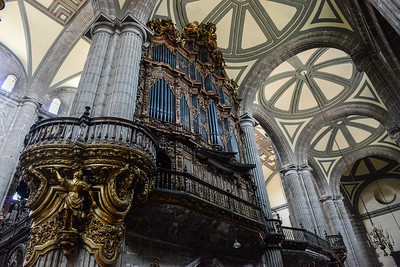 Organ, Cathedral of Mexico City, Mexico