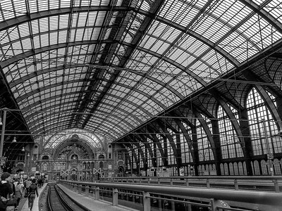 Train Station, Antwerp, Belgium