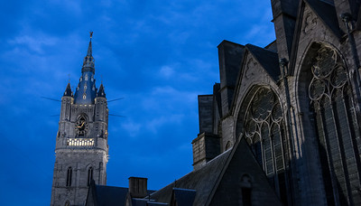 St. Bavo's Cathedral, Ghent, Belgium