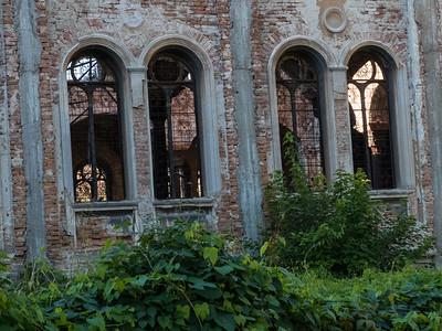 Ruined synagogue, Ruse, Bulgaria
