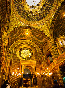 The Spanish Synagogue, Prague, Czech Republic