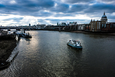 Thames River, London, England