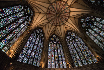 Chapter house, Yorkminster Cathedral, York, England