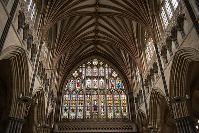 Exeter Cathdral, England