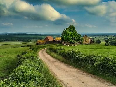 Farm, Burgundy, France