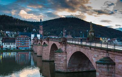 Old Bridge, Heidelberg, Germany