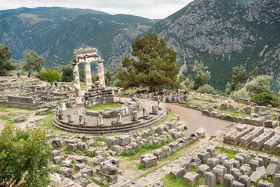 Temple of Delphi, Greece