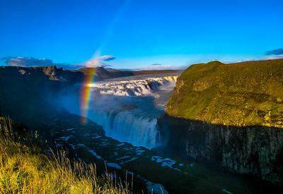 Gullfoss Glacier, Iceland