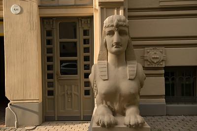 Art Nouveau Facade, Riga, Latvia