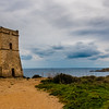 Watchtower, Golden Bay, Malta
