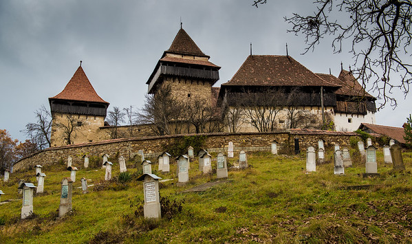 Fortified church, Viscri, Romania
