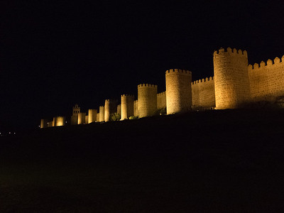 City Walls, Ávila, Spain