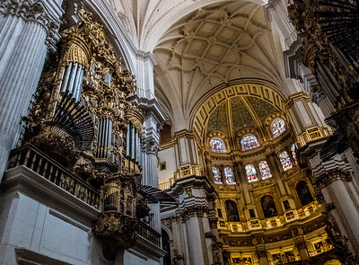 The Cathdral of Granada, Spain