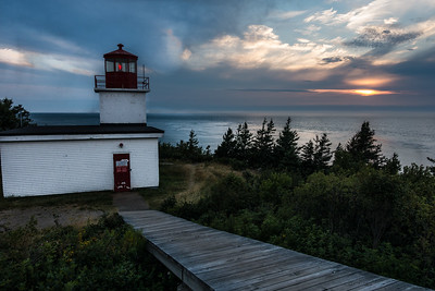 Sunset, Grand Manan Island, New Brunswick, Canada