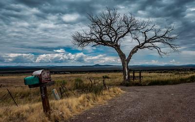 Roadside near Taos, New Mexico