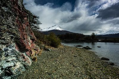 El Condor Mountain, Tierra del Fuego, Argentina