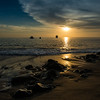 Sunset, Isla Floreana, Galápagos