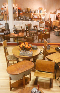 Furniture is included in the variety of items for sale. (Shaun Walker -- The Times-Standard)