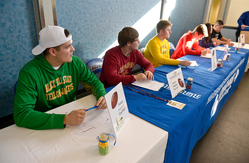 LONGMONT HIGH SCHOOL SIGNING DAY