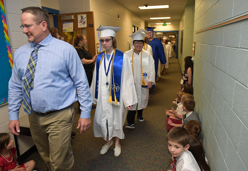 LONGMONT HIGH SENIORS WALK THROUGH HYGIENE ELEMENTARY
