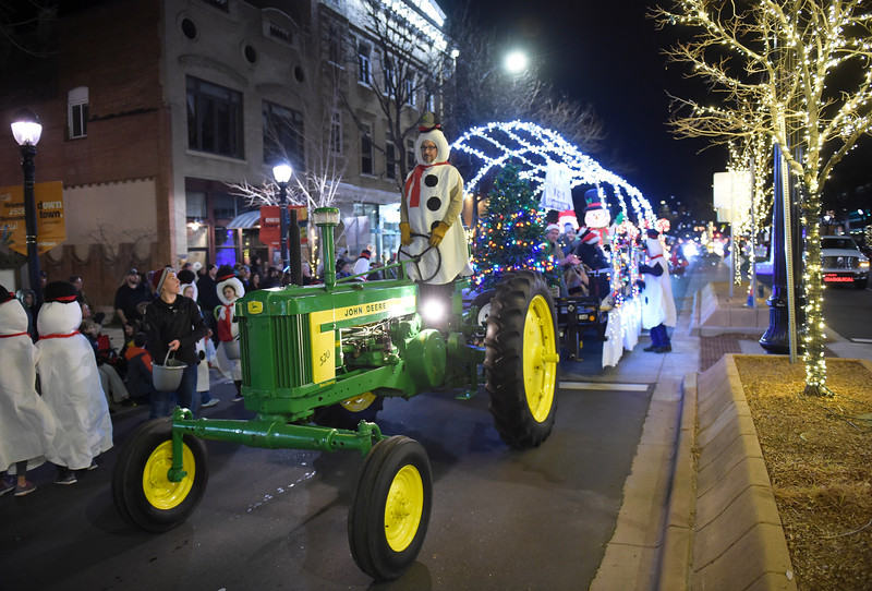 LONGMONT LIGHTS PARADE