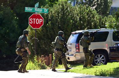 Photos: Longmont Police Serve Search Warrant