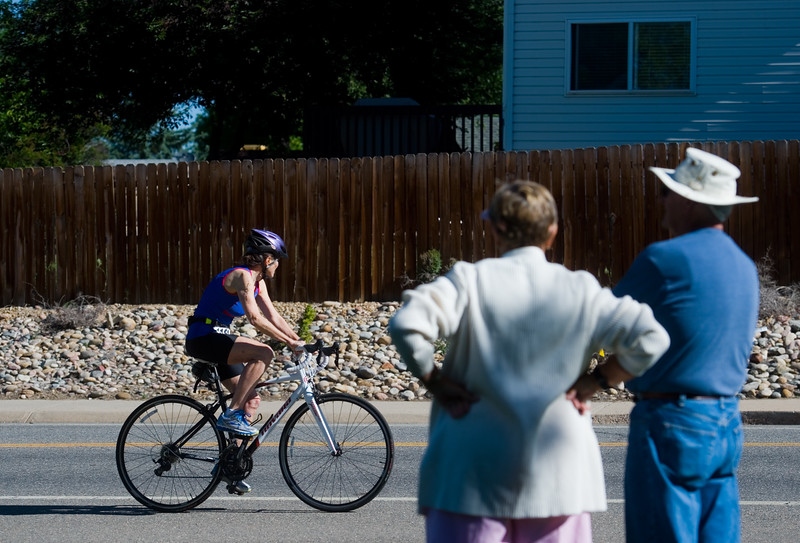 "Brooke Alt competes in the biking portion of the Longmont Triathlon near Centennial Pool in Longmont on Sunday.<br /> More photos:  <a href=""http://www.dailycamera.com"">http://www.dailycamera.com</a><br /> (Autumn Parry/Staff Photographer)<br /> June 5, 2016"
