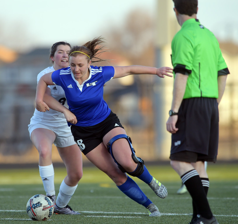 LONGMONT AT FREDERICK GIRLS SOCCER