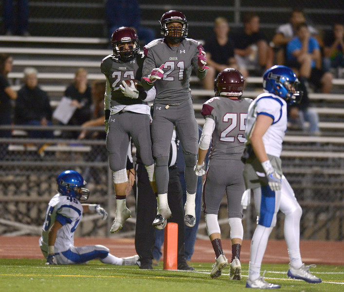 SILVER CREEK AND LONGMONT FOOTBALL